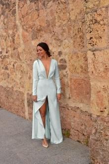 vestido novia angel